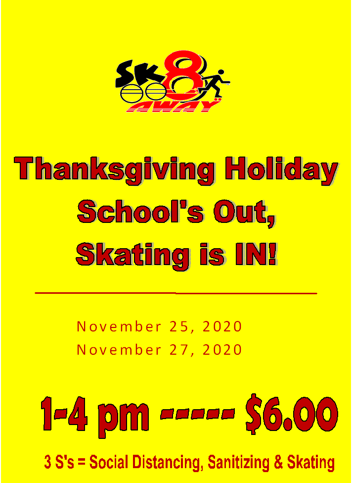 Thanksgiving Schools Out Skating